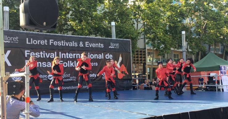 10a edició del Festival de Dansa i Folklore que organitza cada any Traveltec