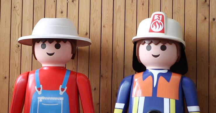 La fira de Playmobils -solidària amb l'autisme- reuneix 3.400 visitants a Lloret de Mar