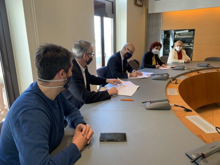 Els Amics de la Música i l'Ajuntament de Lloret firmen un conveni de col·laboració