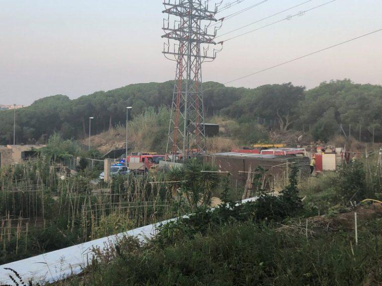 Els Agents Rurals sospiten que el petit incendi d'ahir a Can Ribalaigua va ser provocat