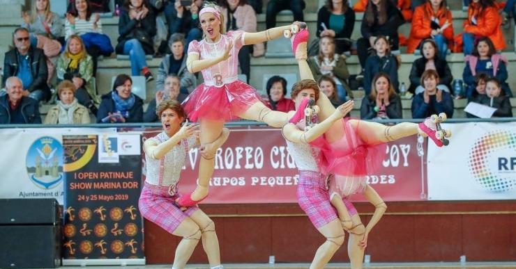La lloretenca Clàudia Terradas, amb el Foment Cardoní, és campiona d'Espanya de Patinatge Artístic