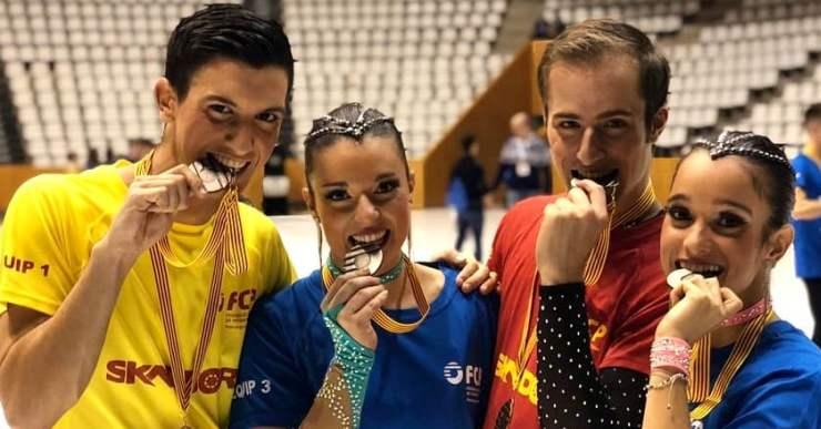La lloretenca Clàudia Terradas, participa al Campionat d'Europa de Xous i Quartets