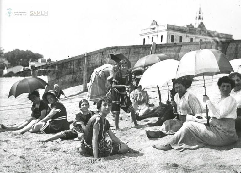 La divisió de les platges de Lloret de Mar té un antecedent a principis del segle XX