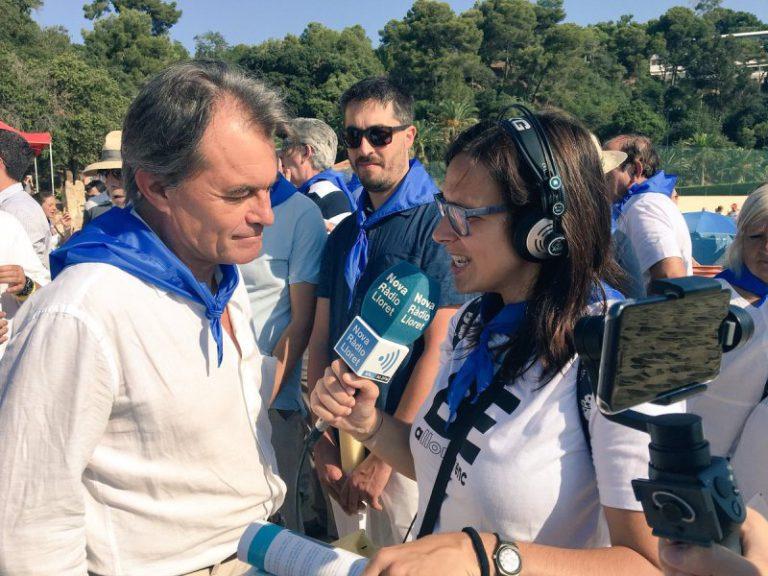 Èxit d'audiència en la retransmissió de la diada de Santa Cristina a través de Nova Ràdio Lloret