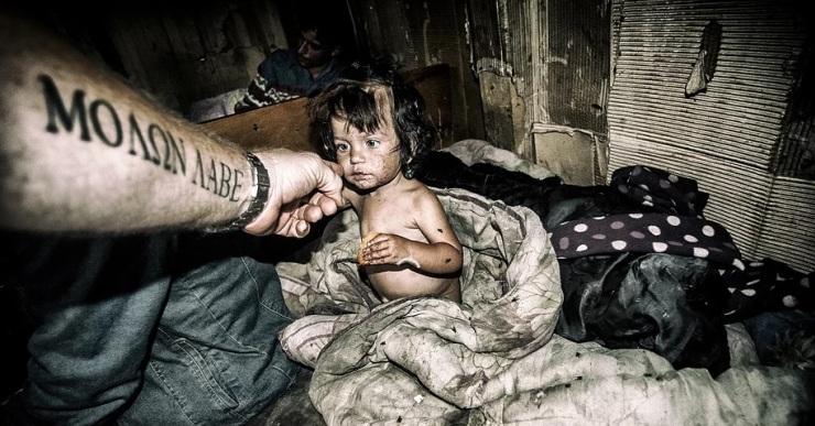 László Balassa mostra la precarietat amb què viuen algunes persones a Ucraïna