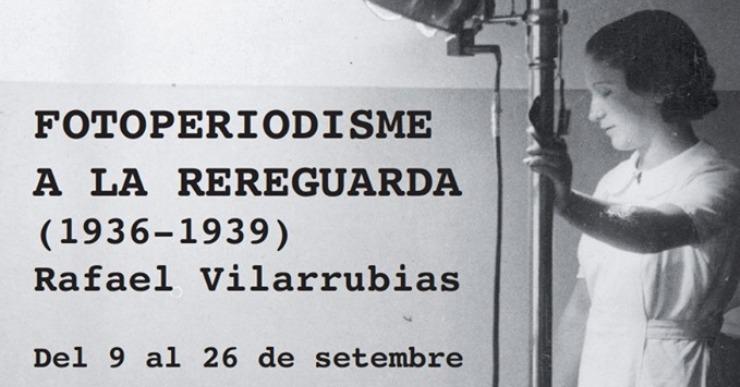 Últim dia per visitar l'exposició 'Fotoperiodisme a la rereguarda' a la Casa de la Cultura