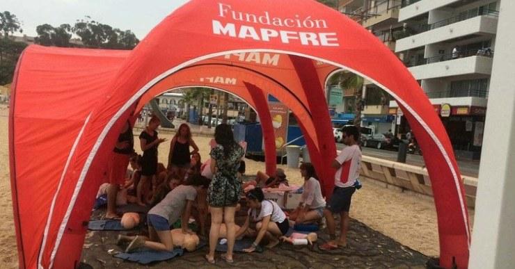 Bandera Blava i la Fundación MAPFRE porten a Lloret la campanya de prevenció a les platges