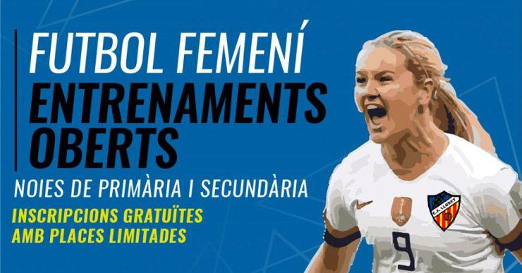 El Club Futbol Lloret farà entrenaments gratuïts per intentar crear un equip femení