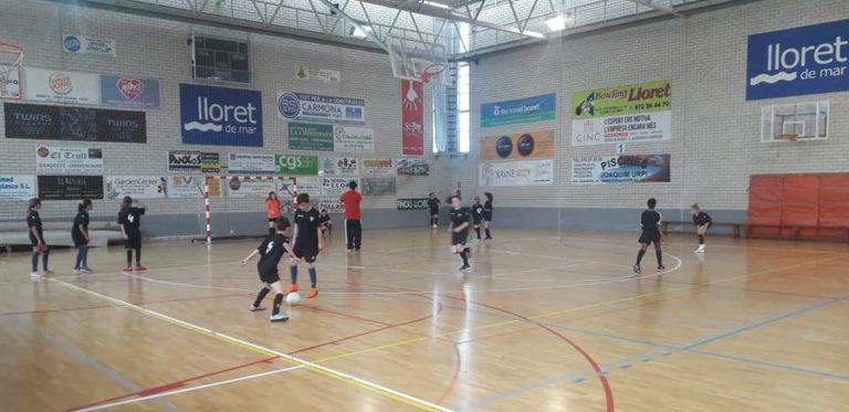 Els monitors del Lloret Esportiu Futbol Sala participen en jornades de formació amb ponents d'alt nivell