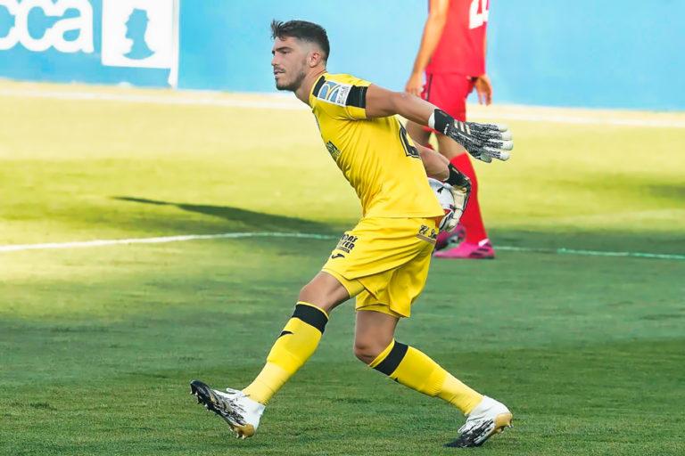 El porter lloretenc Rubén Yáñez debuta a Primera Divisió amb el Getafe