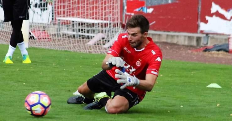 El porter lloretenc Gianni, tercer del Girona, estarà entre dues i tres setmanes de baixa