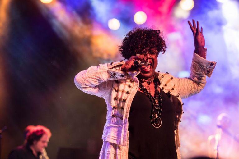 La gran cantant nord-americana Monica Green actua avui a Santa Cristina