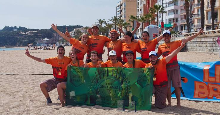 La 15a edició del Torneig internacional de frisbee va molt bé, segons els organitzadors