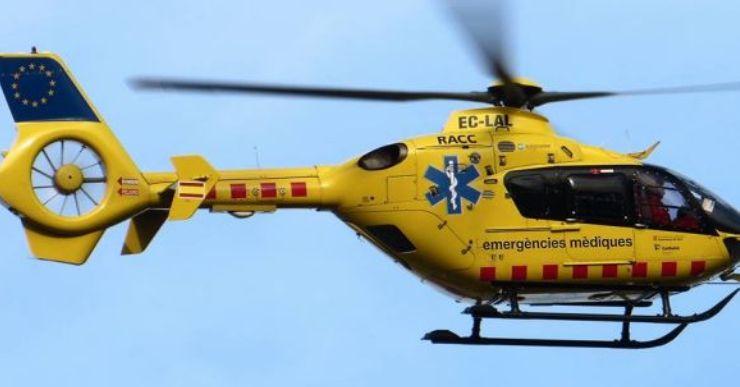 Rescaten un jove ferit greu en precipitar-se per un barranc de 4 metres
