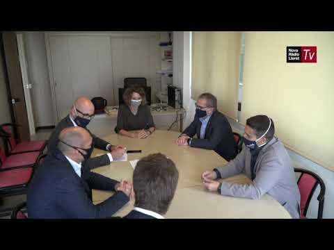La candidata del PDeCAT a la Generalitat es reuneix amb els empresaris lloretencs