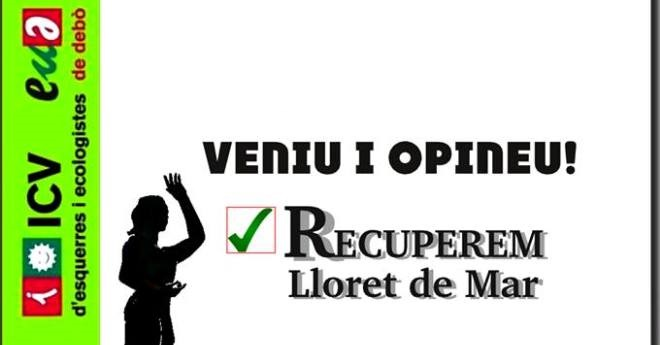 ICV-EUiA i ERC demanen l'opinió als veïns per elaborar el programa electoral