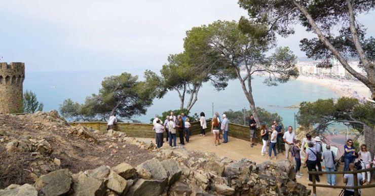 El Turó Rodó, ja inaugurat, s'incorpora a l'oferta turística i cultural de Lloret de Mar