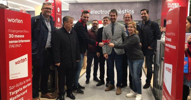 Worten obre les portes a Porta Lloret, amb 16 treballadors i 486 metres quadrats de botiga