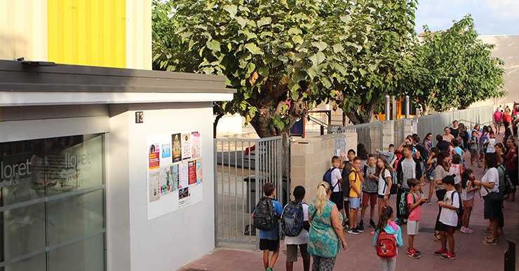 5.100 alumnes matriculats a Lloret han començat el curs escolar aquest dimecres