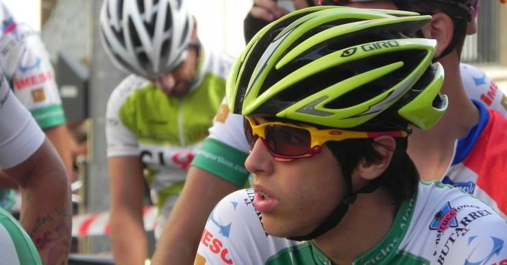 El ciclista lloretenc Ivan Martell (16 anys) participa a la Tour DMZ, a Corea del Sud