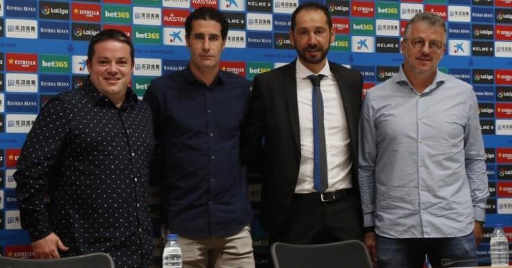 Il·lusió per a la nova etapa de Jordi Balcells al costat de Pablo Machín a l'RCD Espanyol