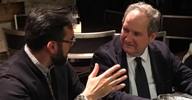 Jordi Hereu, exalcalde de Barcelona amb el PSC, ve a Lloret a donar suport a Francisco Pastor