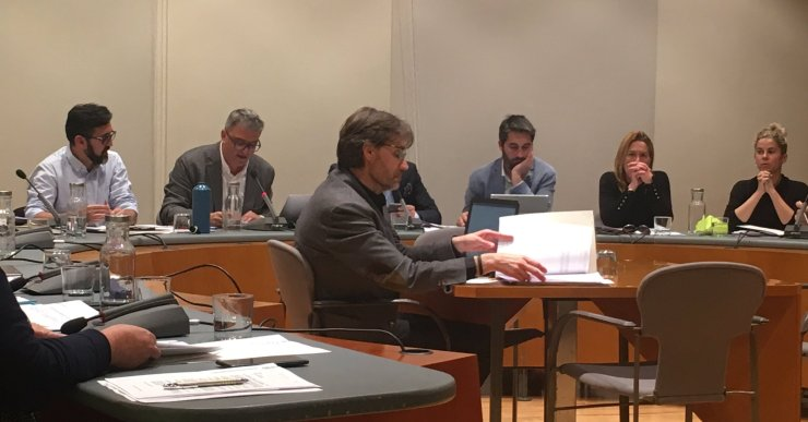 Els propietaris de Can Juncadella demanden l'Ajuntament per la propietat del camí de ronda