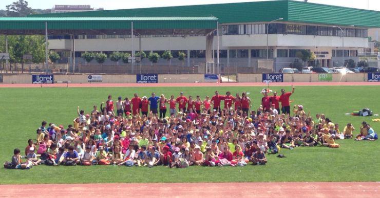 300 alumnes de 4t de primària participen a una jornada conjunta