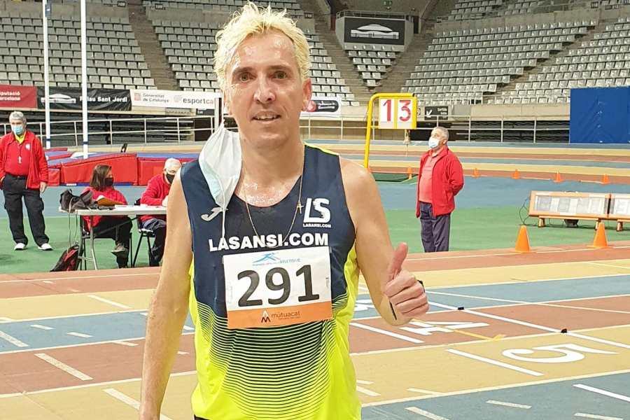 José Luís Blanco en el control de marques (La Sansi)
