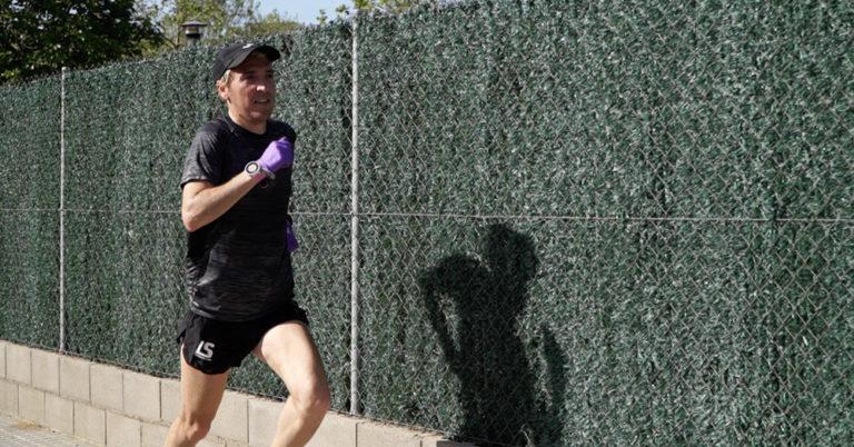 Els esportistes lloretencs completen les primeres sessions d'entrenament, amb la tornada de l'activitat a l'aire lliure