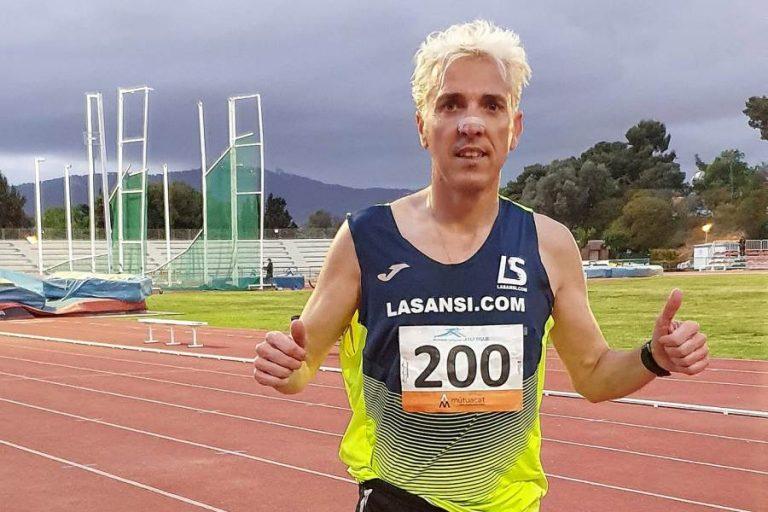 Jose Luis Blanco estableix un nou rècord de Catalunya en els 3.000 metres obstacles