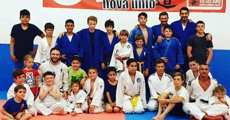 El Club Judo Nova Unió organitza un 'stage' de pretemporada amb prop de 300 persones