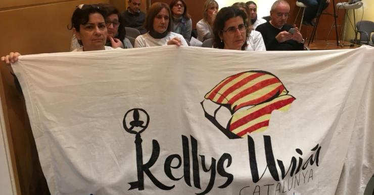 Les Kellys mostren la seva indignació perquè creuen que no se les ha tingut en compte