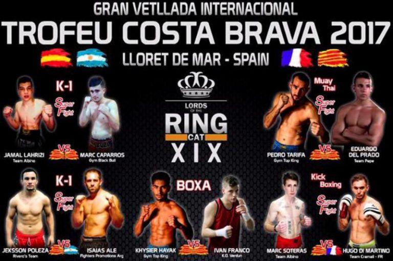 Els combats de kickboxing d'aquest diumenge esperen reunir uns 1.000 espectadors