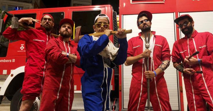 La Fuga, La Banda del Coche Rojo i els grups locals inauguren les Barraques Sa Romana