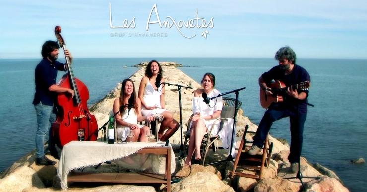Concert d'havaneres, amb Les Anxovetes, avui a la Biblioteca de Lloret