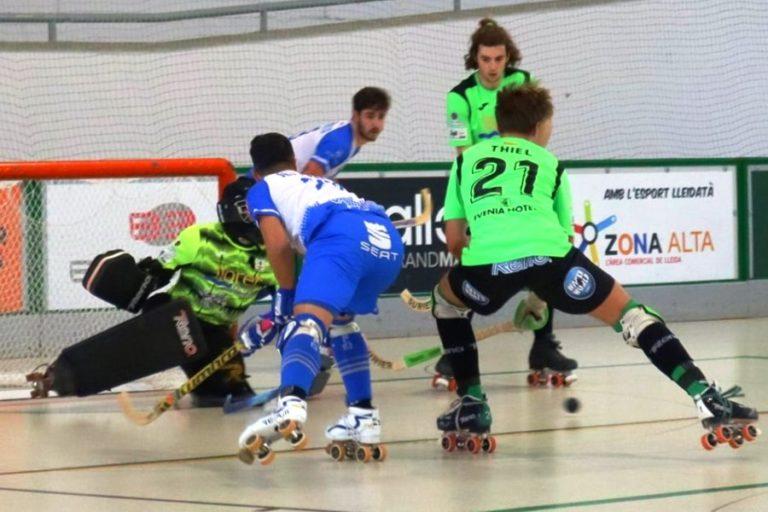 El Club Hoquei Lloret comença l'any amb una derrota contra el Lleida (7-3)