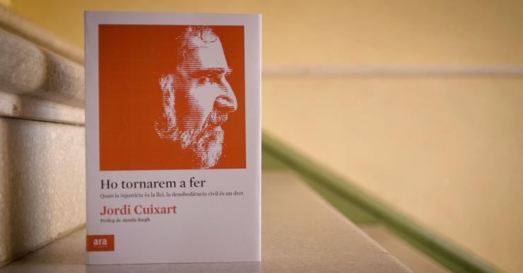 Òmnium Cultural presentarà a Lloret el llibre de Jordi Cuixart, 'Ho tornarem a fer'