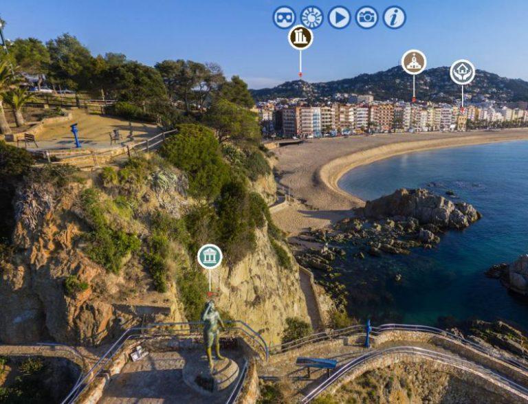 'Lloret 360 graus', una nova eina per visitar virtualment tots els racons de la vila