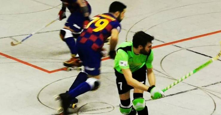 El Club Hoquei Lloret tanca la primera volta cuer després de perdre 7-2 contra el Barça