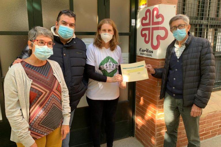 Makers Lloret dona 670 euros al Centre de Distribució d'Aliments