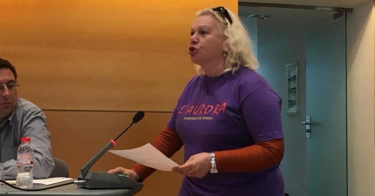 Rebuig de l'Ajuntament i de l'associació de dones l'Aurora a la sentència de La Manada