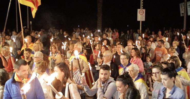 Lloret per la Independència organitza la Marxa de Torxes per reivindicar la sobirania de Catalunya