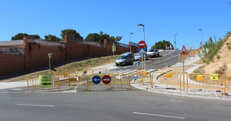 L'Ajuntament ha tallat el camí de Mas Arboç per millorar la seguretat