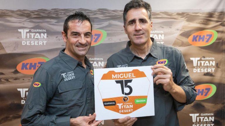 Miguel Induráin, convidat de luxe del clínic sobre la Titan Desert, aquest cap de setmana a Lloret
