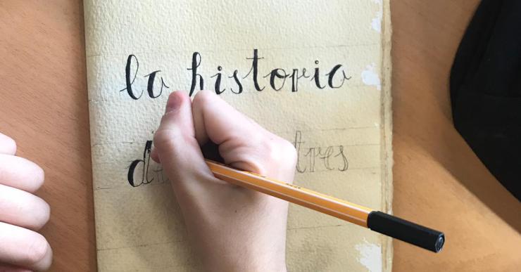L'Institut Escola exposa un projecte de Memòria Històrica que repassa vivències dels avis i àvies