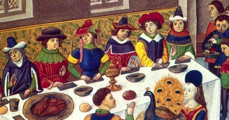 Menú de l'Edat Mitjana a El Romaní amb motiu de la Fira Medieval