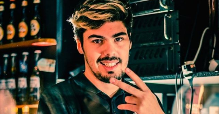 El lloretenc Met Pery torna de Saragossa molt content de la seva actuació com a Dj JCKD