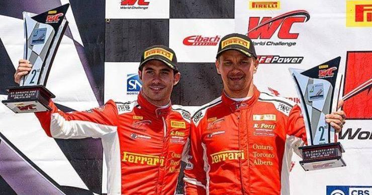 L'equip de Miguel Molina lidera la Pirelli World Challenge, després d'un nou podi