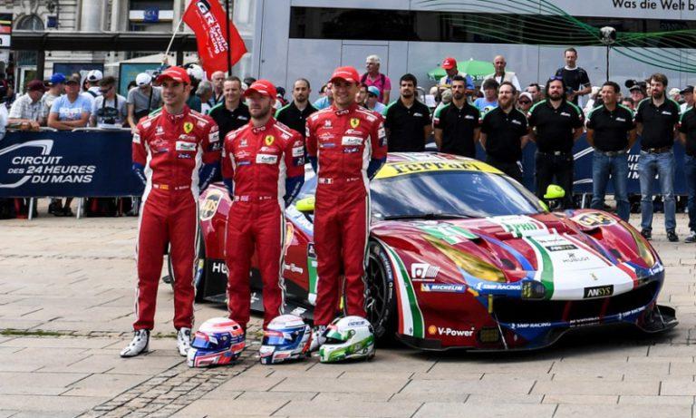 El pilot lloretenc Miguel Molina (Ferrari) queda desè a les 24 hores de Le Mans